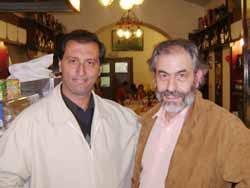Junto a Massimo Biondi en Roma