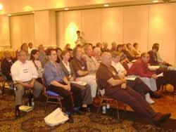 Vista parcial del público asistente.