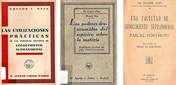 Portadas de Lucidite et Intuition (1913) y Le Sens de la Vie Humaine (1919).