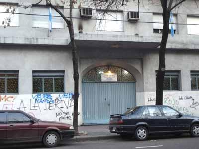 Vista actual del frente de Luz del Porvenir, en la calle Monroe 4888, Ciudad Autónoma de Buenos Aires.