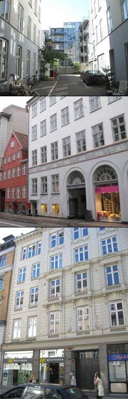 Mr. Jensen había acertado al decir que el incendio se produjo en una fábrica de lámparas en la calle Kongensgade 63.