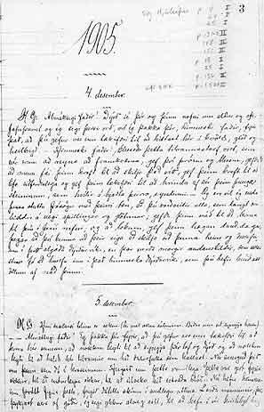 El Libro de Memorias de la Sociedad Experimental de Investigación Psíquica de Islandia, se perdió durante décadas. Aunque reapareció más tarde, las primeras páginas se extraviaron. Las memorias de las sesiones comienzan a partir de una sesión del día 4 de diciembre de 1905, dias después de la sesión en la que Mr. Jensen describió el incendio en Copenhague.