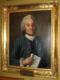 El vidente sueco Emanuel Swedenborg (1688-1772), tuvo una visión de un incendio en Estocolmo, durante su visita a Gotemburgo, en 1759.