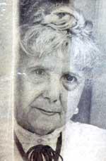 La psíquica italiana Irma Maggi (Fuente revista La Nación, Domingo 21 de abril de 1971, p. 32. Fotografía de Sara Facio).