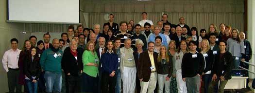 Participantes de la 54ta. Convención Anual de la Parapsychological Association.