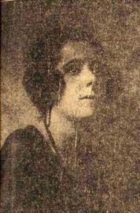 La foto más antigua conocida de Irma Maggi, aparecida en el diario La Sera, de Milán, el 19 de abril de 1923. (Foto gentileza del Dr. Massimo Biondi).