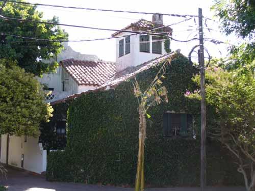 Chalet estilo amalfitano en calle San Lorenzo 601, en La Lucila, Provincia de Buenos Aires), donde vivió Maggi entre 1934 y 1961.