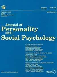 Portada de Journal of Personality and Social Psychology donde se publicó el polémico artículo.