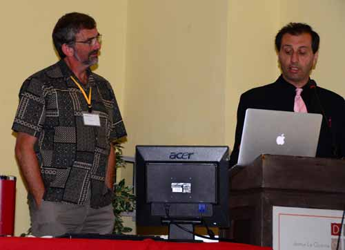 Presentación de Simon Thorpe a cargo de Alejandro Parra acerca del origen de la consciencia y su relación con el fenómeno psi.