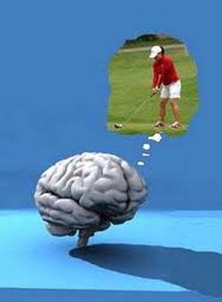 La imaginería mental se refiere al proceso por el cual la información sensorial está representada en la memoria, resultado de la actividad imaginal. Es una representación subjetiva débil de una sensación o percepción sin el estímulo sensorial adecuado (por ejemplo, vividez, intensidad, o fluidez).