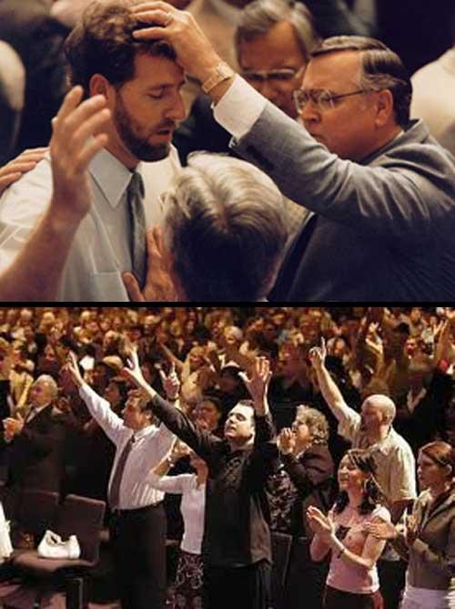 """Los cristianos evangélicos tienen acceso a un sistema de creencias organizado y validado, en consecuencia, un sistema de apoyo social que interpreta sus voces de manera más positiva. Sus experiencias de oír la """"voz de Dios"""" o mensajes del espiíritu santo tiene un significado religioso positivo, de ahí que están más motivados a continuar en la iglesia. La contención y guía que reciben de sus pastores e iglesia le permite interpretar estas voces en forma positiva."""