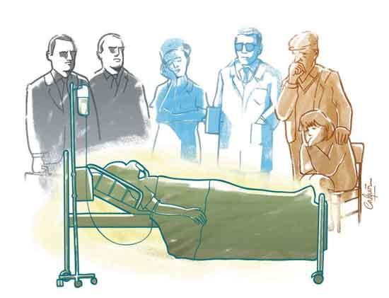 El reclamo de muchos ancianos que se enfrentan a la muerte es que quieren ser tratados como seres humanos, con emociones, sentimientos y necesidades espirituales; no como una máquina que necesita ser reparada.