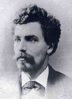 """Durante una visita de Henry Slade (1835–1905) a Australia en 1878, Curtis describió lo que observó; una aparición de un espíritu en el motel Lester Ballarat. Describe haber visto una """"pequeña nube de niebla entre la pared y yo."""""""