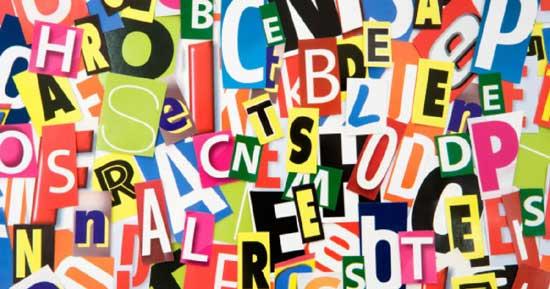 Las letras desordenadas ayudan a representar el caótico conjunto de significados de la lalangue, el lugar homofónico y polisémico donde el significado se desliza alrededor. Esta sería la verdadera lengua materna del sujeto, en la medida en que es capaz de seleccionar el significante psi correspondiente, el sujeto es capaz de pasar por debajo de los modismos y frases que le son entregados a través de la oscuridad del Gran Otro, Educación social.