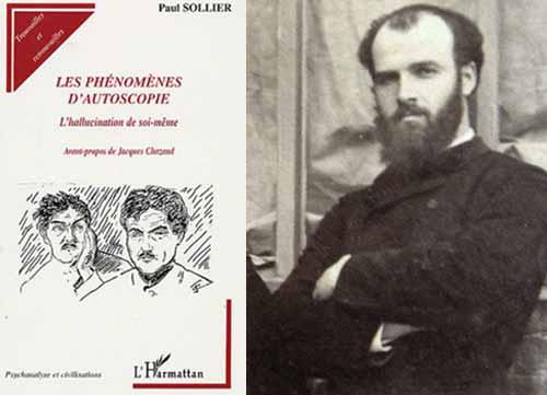 Osty fue fuertemente infuido por el libro <I>Les Ph&eacute;nomènes d'Autoscopie</I> del m&eacute;dico Paul August Sollier (1861-1933).