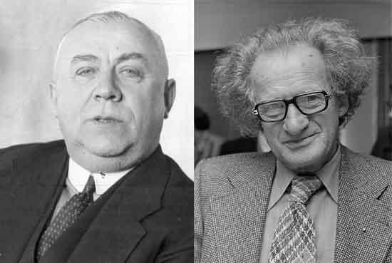 Los psíquicos dicen capturar impresiones extrasensoriales explorando el cuerpo energético de su cliente, y mucho de ellos han ganado reputación como detectives psíquicos usando la psicometría, como Stefan Ossowiecki (1877-1944) (izq.) o Gerard Croiset (1909-1980) (der.)