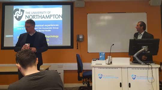 Presentación a cargo del Profesor Chris Roe en el Centre for the Study of Anomalous Psychological Processes de la Universidad de Northampton, Reino Unido.