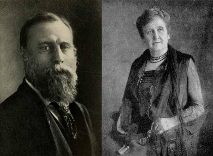 """En una sesión con Richard Hodgson (1855–1905), la medium americana Eleanor Piper (1857-1950) canalizó esta afirmación: """"Las ropas usadas de una persona cuando está en contacto con su cuerpo contienen cierta forma de poder magnético... Nos atrae (a nosotros) de la misma manera que un imán atrae una aguja. Su propia esfera. Tiene luz propia... una ligera cubierta etérea, por así decirlo""""."""