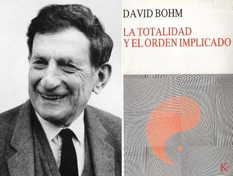 """El físico teórico David Bohm (1917-1992) planteó la posibilidad de que un objeto físico como tal puede dejar una huella mnémica. Según Bohm, algunos fenómenos físicos resultan de una base multidimensional que no es directamente observable por los sentidos. Llamó a ésta """"orden implícito"""" diferente del orden explícito del universo físico, y a la memoria como un tipo especial de este proceso. También en psicometría, los eventos dejan una huella que continúa en momentos posteriores, lo que puede permitir a una persona tener una imagen del pasado."""