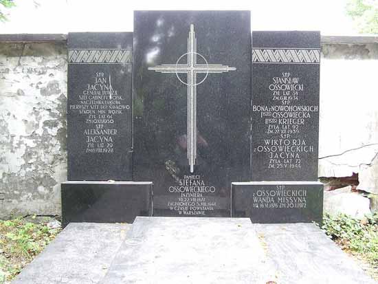 Durante el Levantamiento de Varsovia, el 5 de agosto de 1944, la Gestapo ocupó el edificio de la antigua Inspectoría polaca de las Fuerzas Armadas en la Avenida Ujazdów. Probablemente fue asesinado, en efecto, su cuerpo nunca fue encontrado, como reza un cenotafio en el cementerio Powazki de Varsovia.