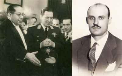 Sobrino Aranda advirtió del interés que el ministro de salud Ramón Carrillo e incluso Perón mismo (izq.) tenían por la parapsicología. De hecho, Carrillo nombró al medico psiquiatra Orlando Canavesio (der.) a cargo del Gabinete de Parapsicologia dependiente del entonces Ministerio de Salud a partir de 1948.