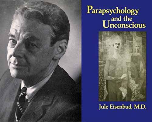 """Cesio coincide con el psicoanalista Jule Einsebud en su obra Telepathy and Problems of Psychoanalysis, indicando que los espiritistas explican el conocimiento telepático por el desplazamiento de los espíritus de un cuerpo a otro; en la transferencia/contra-transferencia observamos que el analista introyecta objetos. A través de este mecanismo, el analista puede conocer aspectos de su paciente que el psicoanalista adquiere por """"atención flotante"""" y que se puede explicar por el mecanismo telepático."""