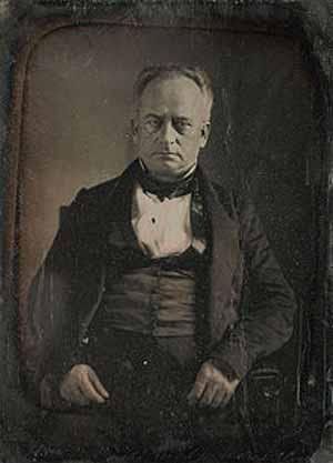 """El Senador Nathaniel P. Tallmadge (1795-1864) era simpatizante del espiritismo. Además concurría con frecuencia a sesiones de mesas """"parlantes"""" en varias sociedades espiritistas de New York."""