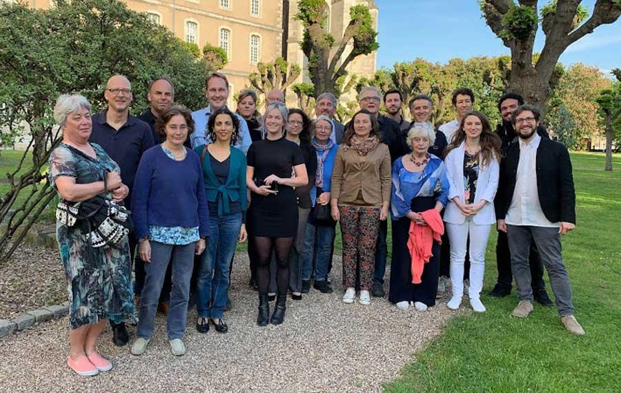 Foto grupal del Quinto Encuentro de Expertos en el Abordaje Clinico de las Experiencias Excepcionales en Nancy, Francia.