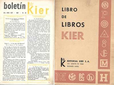Portadas de los catálogos de 1957 y 1972.