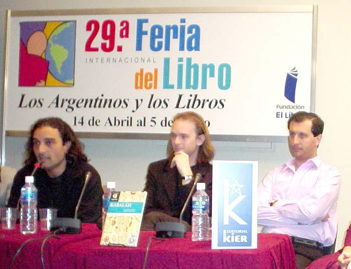 """Kier quedó representada en varias ocasiones en las ferias internacionales y en la Feria del Libro de Buenos Aires que organiza cada año la Fundación """"El Libro"""" desde 1976."""