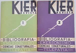 Después de La Estrella de Occidente, publicada por el mismo Kier, Pibernus decidió lanzar once números de una revista de corte similar que funcionó como difusora de las novedades editoriales entre sus lectores y otros editores, la Revista Kier, entre 1947 y 1949.