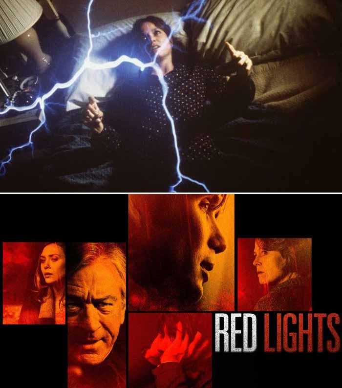 """La cinematografía contribuyó a popularizar pero también distorsionar los fenómenos paranormales. La parapsicología es un campo complejo, con muchos acercamientos y perspectivas que complican su entendimiento. (Arriba """"The Entity"""" 1982, abajo """"Red Lights"""" 2012)."""