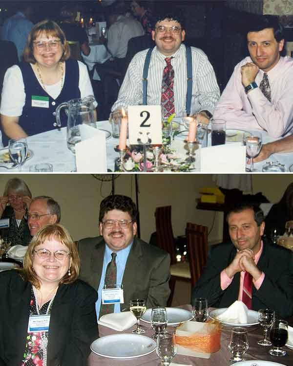 Encuentros en las Convenciones de la Parapsychological Association en Edinburgo (Escocia) en 1997 y en Curitiba (Brasil) en 2011.